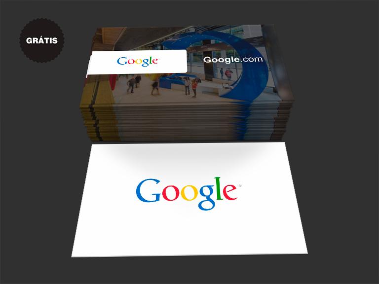 Cartão de Visita Google Grátis
