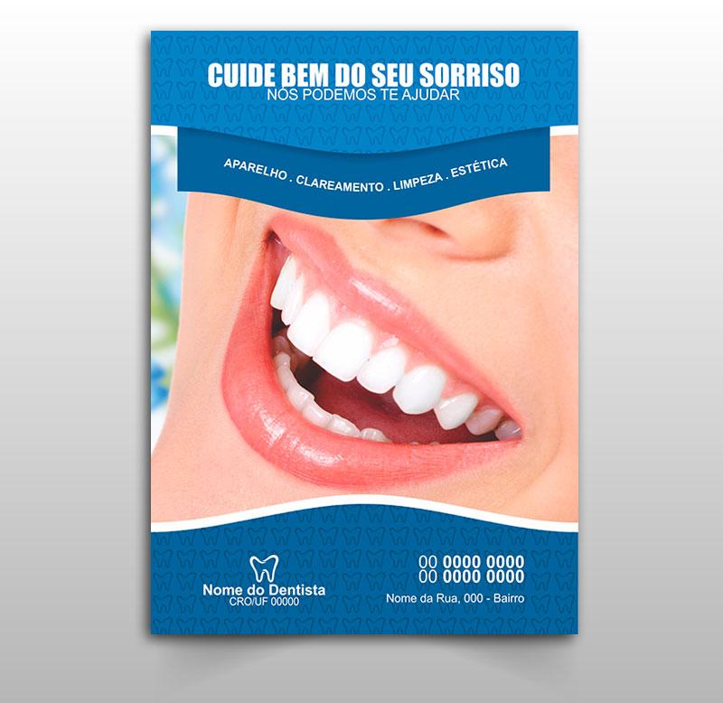 Panfleto Dentista Modelo 01