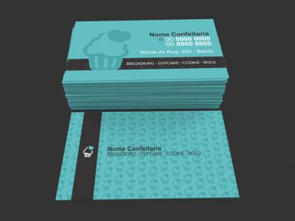 Cartão de Visita Confeitaria Modelo 02