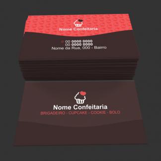 Cartão de Visita Confeitaria Modelo 03
