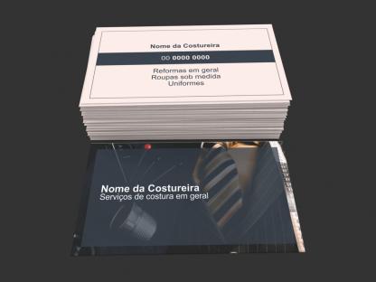 Cartão de Visita Costureira Modelo 01