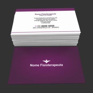 Cartão de Visita Fisioterapia Modelo 01