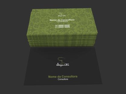 Cartão de Visita Jequiti Modelo 01