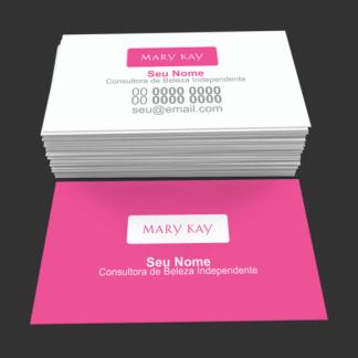 Cartão de Visita Mary Kay Modelo 05