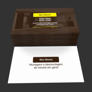 Cartão de Visita Montador de Móveis Modelo 01