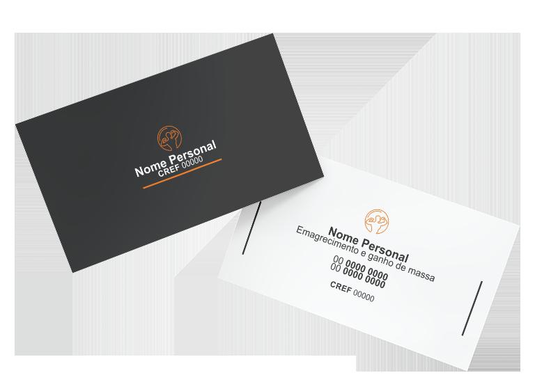 Cartão de Visita Personal Trainer Modelo 02
