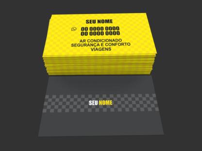 Cartão de Visita Taxista Modelo 03