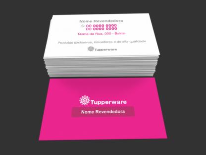Cartão de Visita Tupperware Modelo 02