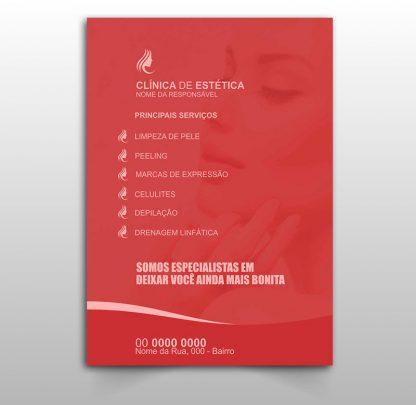 Panfleto Esteticista Modelo 01