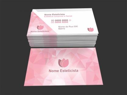 Cartão de visita esteticista - 05